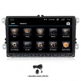 Navigatie dedicata Skoda Fabia 2007-2012, Android 8.0, Quad Core, GPS, Mirrorlink
