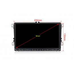 Navigatie dedicata Skoda Roomster 2006-2012, Android 8, Quad Core, GPS, Mirrorlink