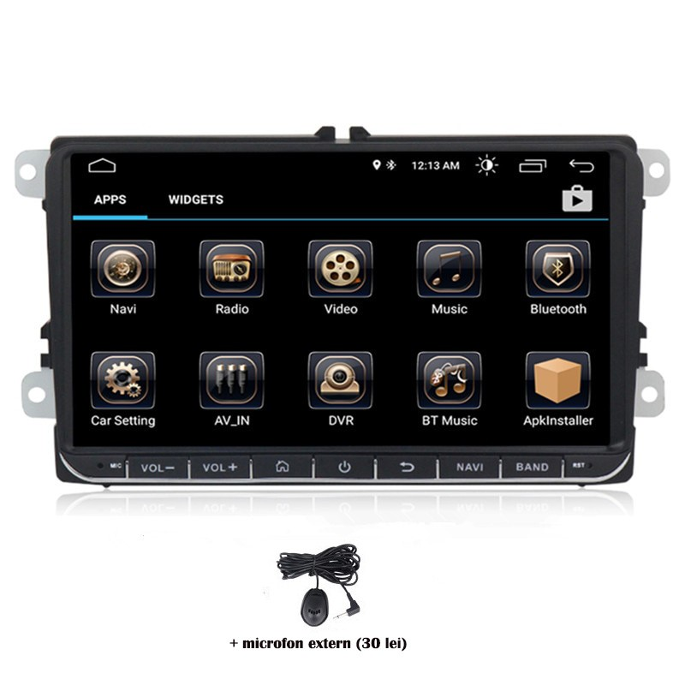 Navigatie dedicata Skoda Yeti 2009-2013, Android 8, Quad Core, GPS, Mirrorlink