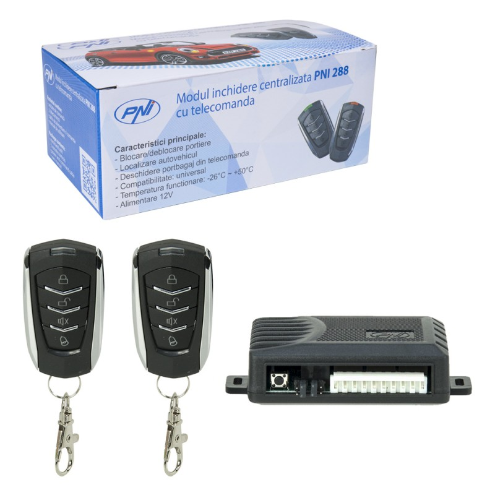 Modul inchidere centralizata PNI 288 telecomanda