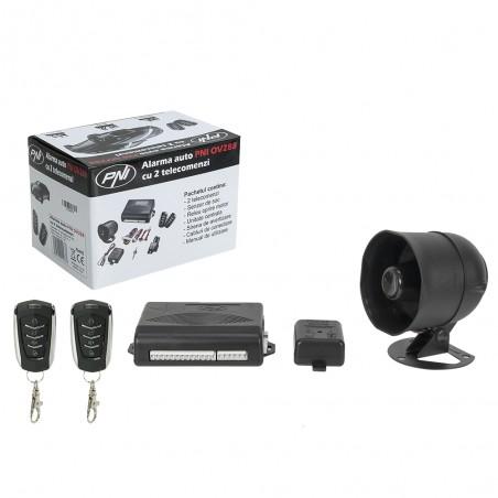 Alarma auto PNI OV288 modul inchidere centralizata 2 telecomenzi