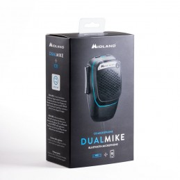 Microfon inteligent Midland Dual Mike Bluetooth 4 pini compatibil APP CB Talk