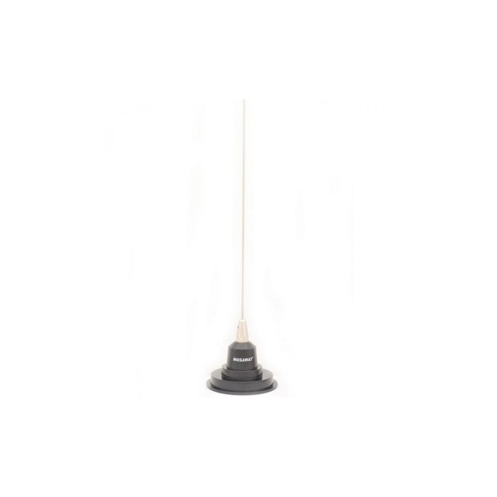 Antena statie radio CB, Megawat CB-7 1,1m cu talpa magnetica 90 cm.