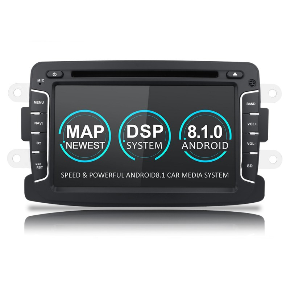 Navigatie dedicata Dacia Sandero Stepway, Android 8.1, Quad Core, GPS, Mirrorlink