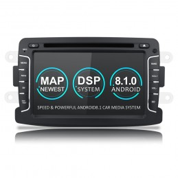 Navigatie dedicata Dacia Logan 2, Android 8.1, Quad Core, GPS, Mirrorlink