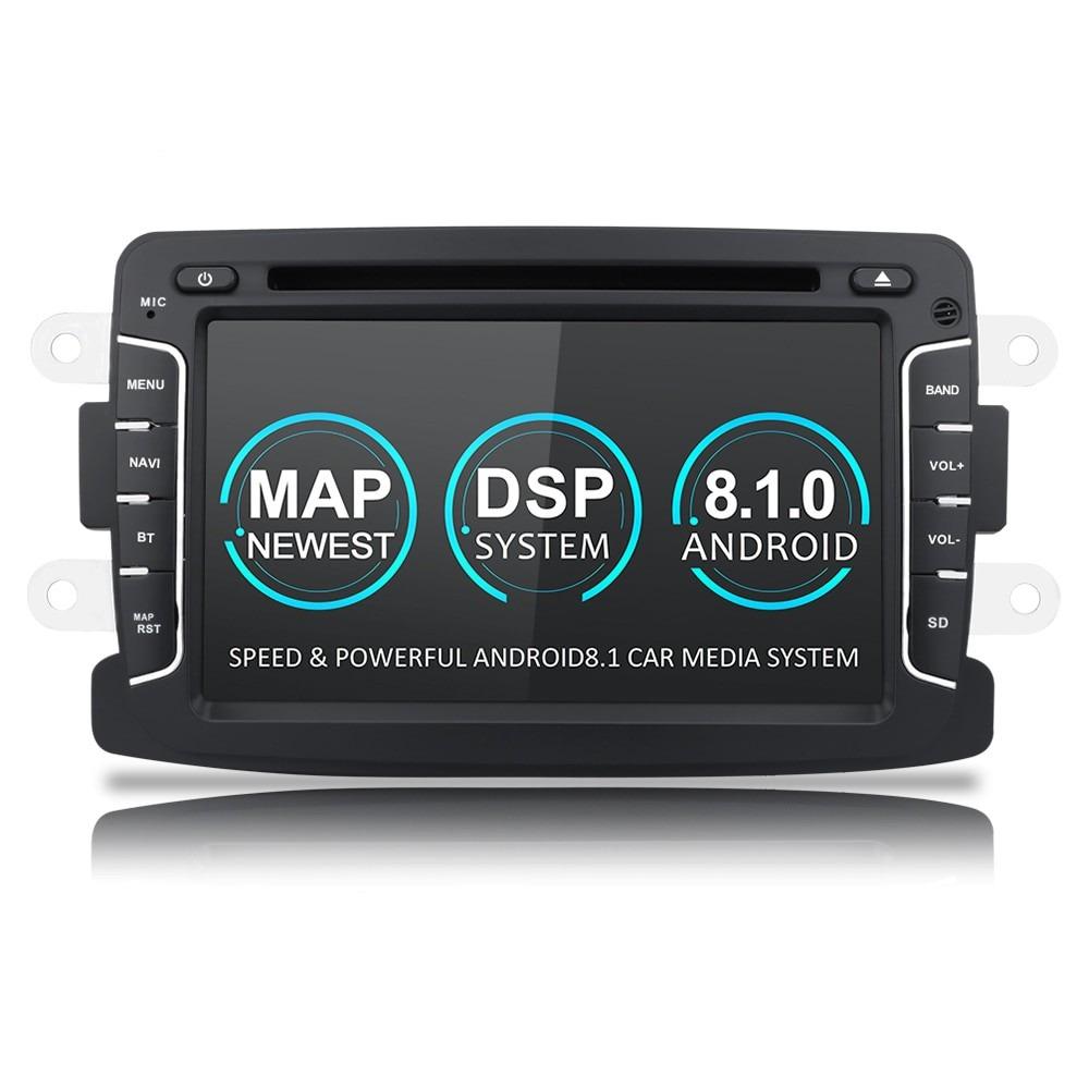 Navigatie dedicata Dacia Logan 2, Android 8.1, Quad Core, GPS, Mirrorlink