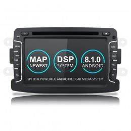 Navigatie dedicata Renault Captur, Android 8.1, Quad Core, GPS, Mirrorlink