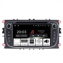 Navigatie dedicata Ford Mondeo 2007-2010, Android 8.1, Octa Core, GPS, Mirrorlink negru