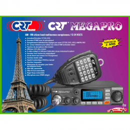 Statie radio CB CRT Megapro  4W Alimentare 12/24 V
