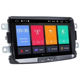 Sistem navigatie PNI Android 10, 2GB DDR3/ROM 32GB Dacia Logan 2 Sandero Duster Renault Captur Touch Screen Bluetooth RDS