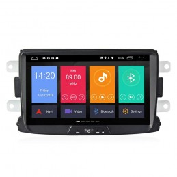 Sistem navigatie PNI Android 9 2GB DDR3/ROM 32GB Dacia Logan 2 Sandero Duster Renault Captur Touch Screen Bluetooth RDS