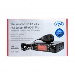 Statie radio CB PNI Escort HP 9001 PRO ASQ reglabil 12V/24V