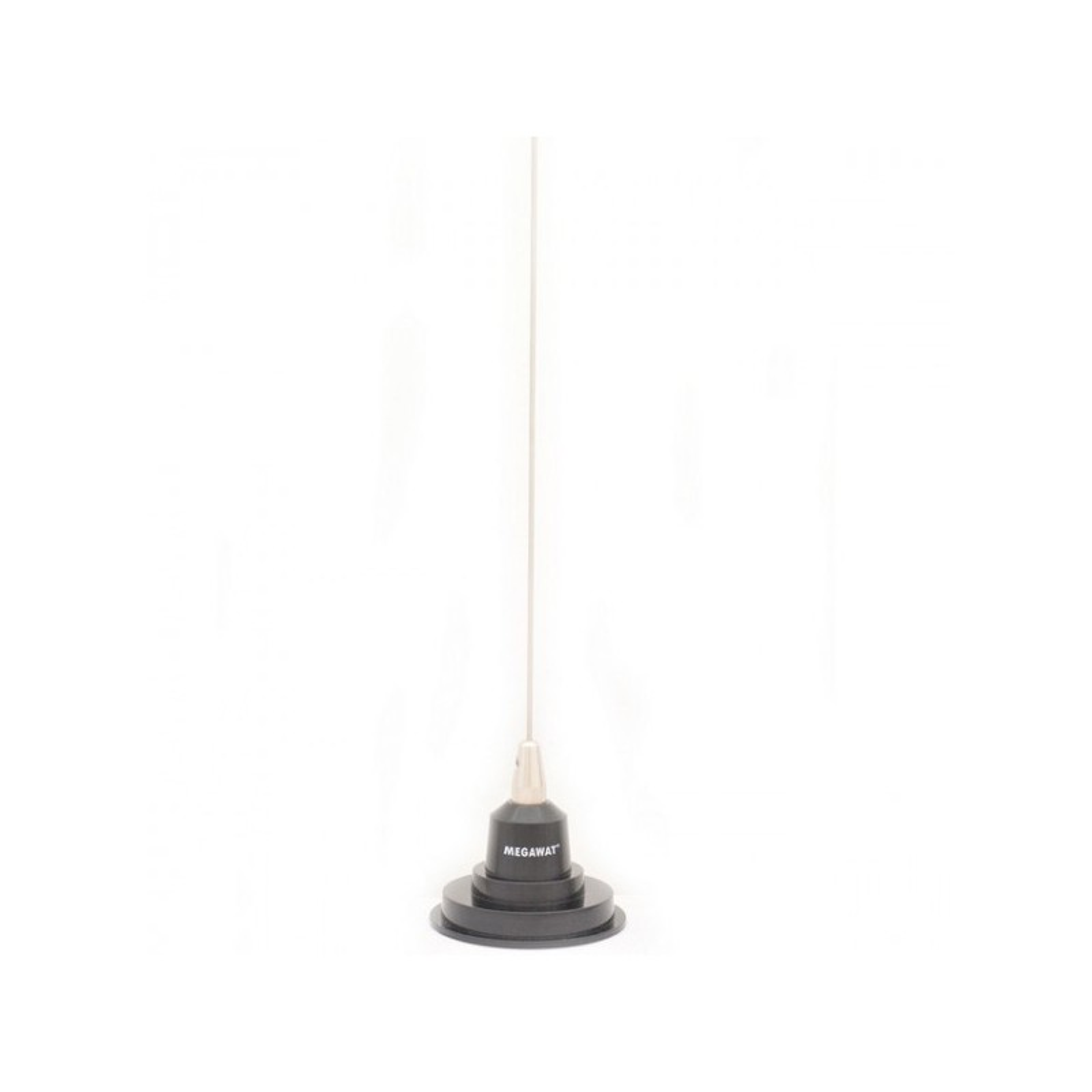 Antena statie radio taxi, Megawat VHF2, TX2, 1,4m, cu magnet de 9 cm.