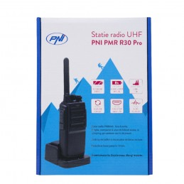 Statie radio UHF portabila PNI PMR R30 Pro, 1 buc
