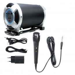 Boxa portabila PNI FunBox BT108 Bluetooth 80W MP3 player FM karaoke