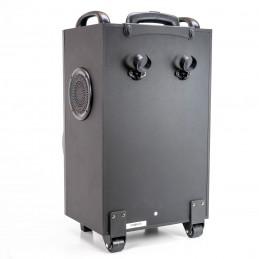 Boxa portabila PNI FunBox BT201 Bluetooth 200W Mixer acumulator MP3 player Radio FM micro SD  USB  AUX Microfon Troller