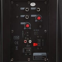 Boxa portabila activa Akai SS023A-X10, 50 W RMS, Bluetooth, USB, SD card reader, Aux in