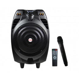 Boxa portabila activa Akai SS023A-X10, 50 W RMS, Bluetooth, USB, SD card reader, Aux in