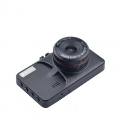 "Camera Auto DVR Novatek T619 Black Box 3"" carcasa metalica FullHD slim design"