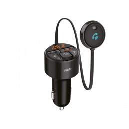 Modulator FM PNI Valentine V880 Bluetooth 5, MP3 player, transmitator FM, port USB dual, incarcare rapida