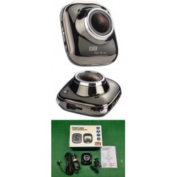 Camera Video Auto DVR RLDV-201 Full HD 1080p Unghi 170 Grade Display 2inch WDR