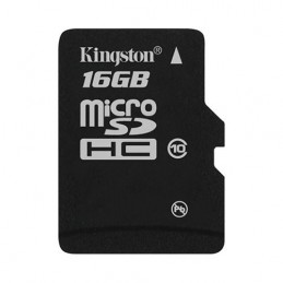 Card memorie Kingston MicroSD, 16GB, Class 10, adaptor