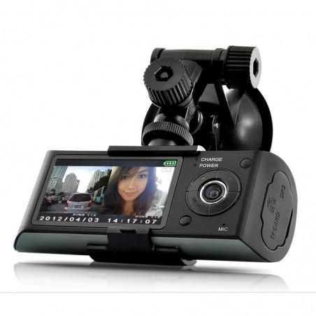 Camera Video Auto R300 dubla filmare interior exterior GPS Logger