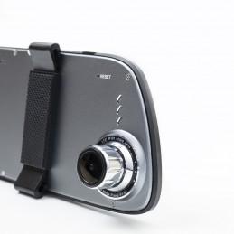 Camera auto dubla DVR PNI Voyager S2000 Full HD tip oglinda unghi 170 grade touchscreen IPS