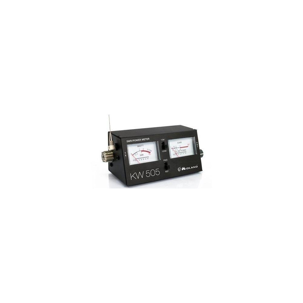 Reflectometru Midland KW505, PWR-SWR Meter, 10W-100W, 1.5-150MHz