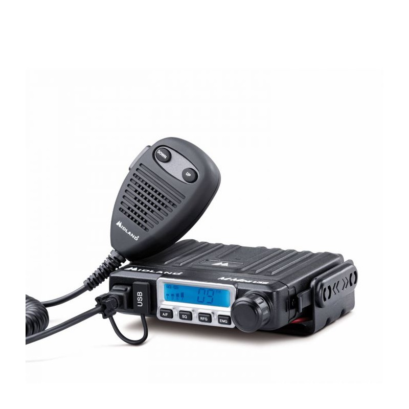 Statie radio CB Midland M-MINI USB Squelch digital