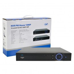 Kit supraveghere video PNI House - NVR 16CH 1080P si 4 camere PNI IP2DOME 1080P varifocale