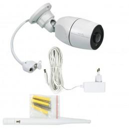 Camera supraveghere video Stabo WLAN outdoorcam_fisheye 180 HD 2MP 1080P slot microSD