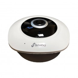 Camera supraveghere video fisheye Stabo 360HD 960P Wireless, LAN, de interior, Comunicare audio, Slot MicroSD