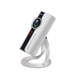 Camera supraveghere video Stabo WLAN indoorcam_fisheye 180, 720P, 1MP, WiFi, P2P, slot card micro SD, detectie miscare