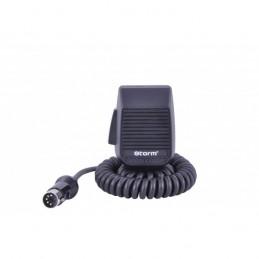 Microfon statie radio, condensator, Storm, 5 pini
