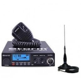 Statie radio CB Storm Matrix 20W, plus antena Megawat ML145