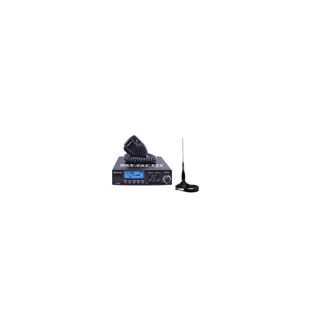 Statie radio CB Storm Matrix 20W, plus antena Megawat ML145