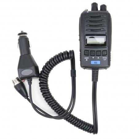 Statie radio CB portabila TTi TCB-H100, alimentare 12V/24V, Ecou, Roger Beep, Squelch