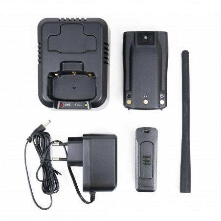 Kit accesorii TTi H100 cu acumulator 2600mAh inclus pentru Statie radio CB portabila TTi TCB-H100