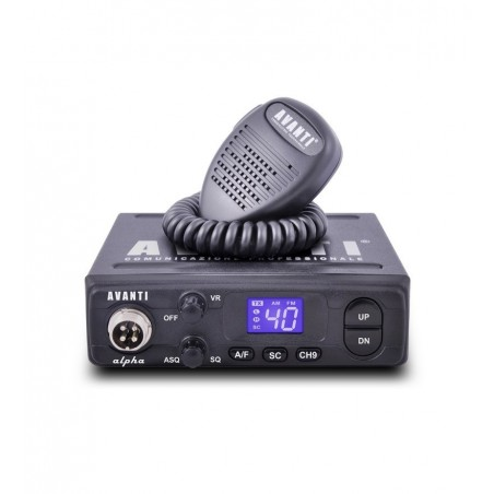 Statie radio CB Avanti Alpha ASQ 4W