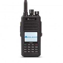 Statie radio taxi radioamator VHF/UHF portabila Midland CT990 dual band 10W