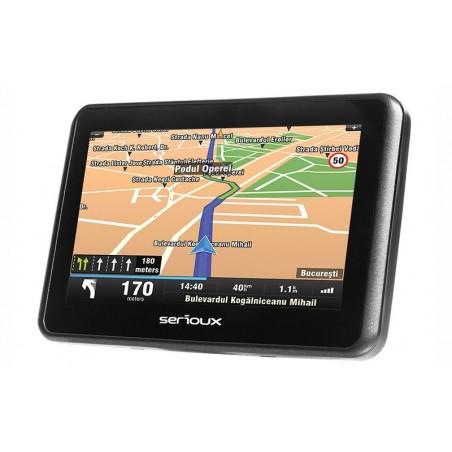 """Sistem navigatie Serioux UrbanPilot UPQ430, 4.3"""", soft inclus"""