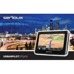 Sistem de navigatie Serioux UrbanPilot UPQ430, soft navigatie auto si camion
