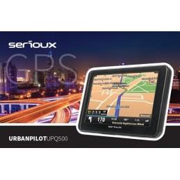 Sistem de navigatie Serioux UrbanPilot UPQ500, soft navigatie auto si camion