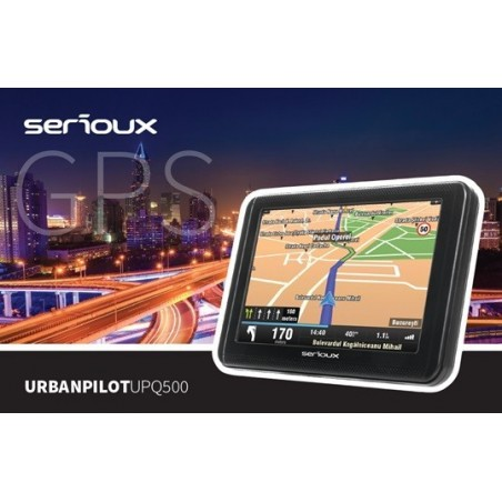 """Sistem navigatie Serioux UrbanPilot UPQ500, 5"""", soft inclus setare camion"""