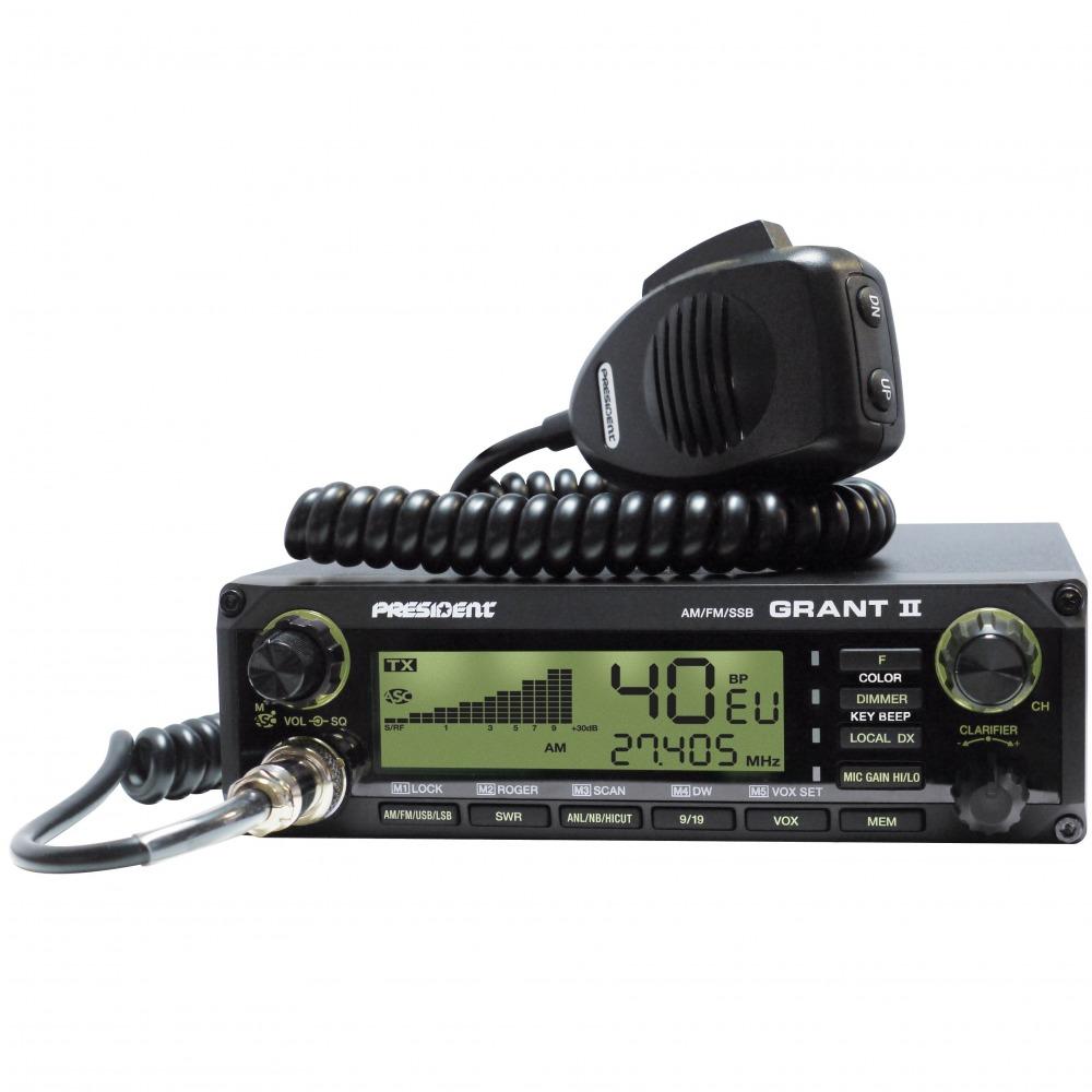 Statie radio CB President Grant II ASC Premium