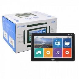 "Sistem navigatie PNI L510, 5"", Windows CE 6, FM transmitter si soft navigatie inclus."