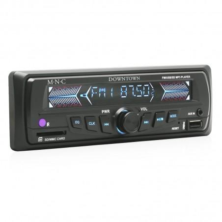 Radio MP3 Player auto MNC DownTown, 4 x 40W, SD, USB, AUX