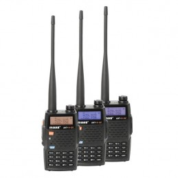 Statie radio portabila Maas AHT-9-UV culori ecran lcd