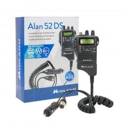 Statie radio CB portabila Midland Alan 52 DS Squelch automat